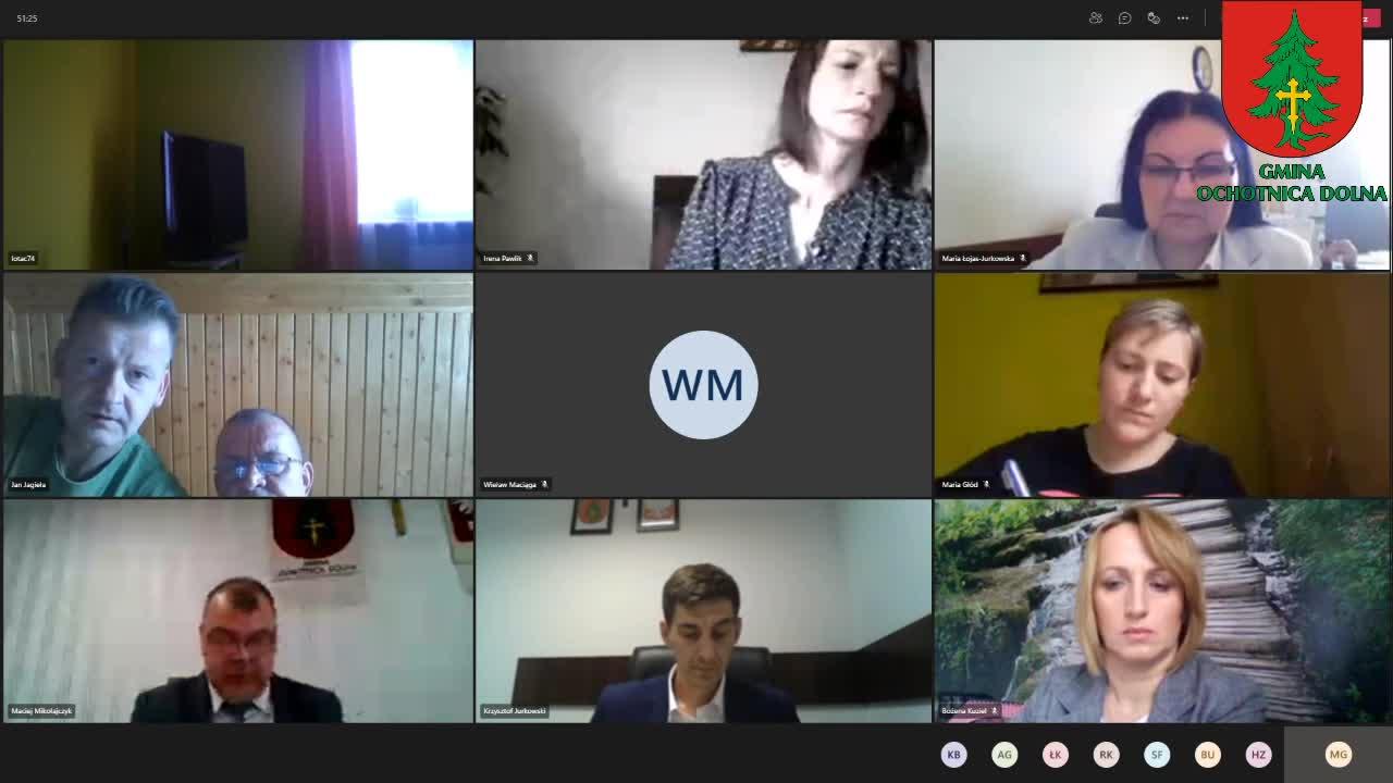 XXXV/21 sesja Rady Gminy Ochotnica Dolna - 30 kwietnia 2021 roku