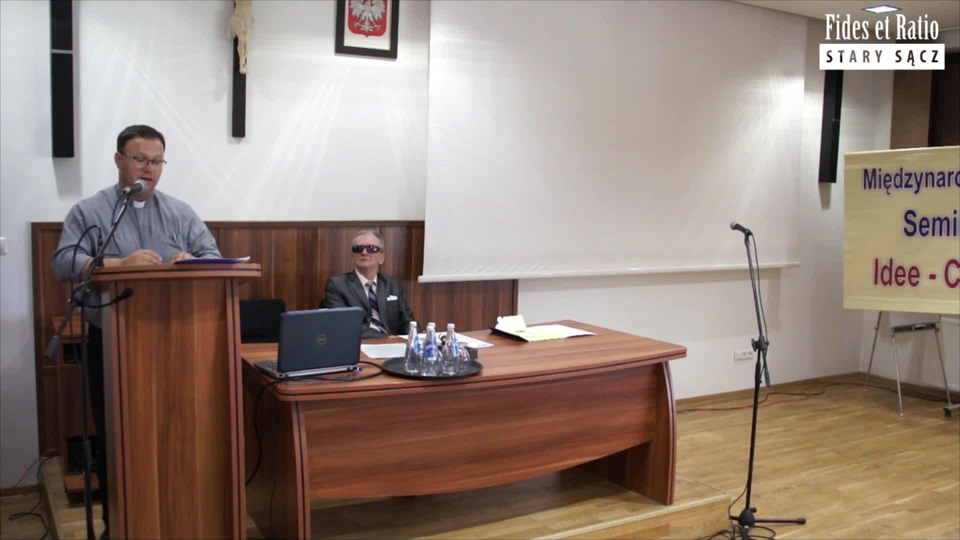 ks. Martyna - Uniwersytet Katolicki miejscem dialogu wiary i rozumu